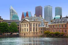 Holandés Parlament del palacio de Binnenhof Imagenes de archivo