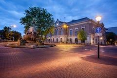 Holanda de Leeuwarden da biblioteca de Bibliotheek Imagem de Stock Royalty Free