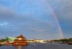 Holanda do arco-íris de Amsterdão Foto de Stock Royalty Free