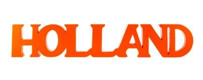 Holanda na laranja Imagem de Stock