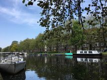 Holanda van Amsterdam Stock Foto's