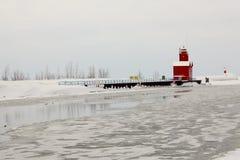 Holandia latarnia morska Fotografia Stock
