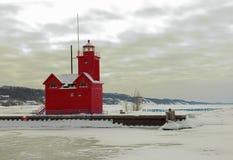 Holandia latarnia morska Fotografia Royalty Free