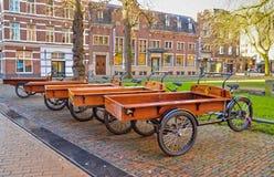 Holandia odpoczynkowy bicykl fotografia stock