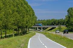Holandie roading Zdjęcie Royalty Free