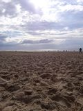 Holandii plaża fotografia stock