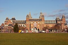holandii rijksmuseum Zdjęcie Royalty Free