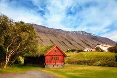 Holar,冰岛 库存照片