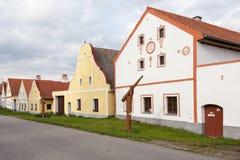 Holasovice στη Δημοκρατία της Τσεχίας στοκ εικόνα