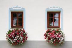 Holasovice - Baroque piega del villaggio dell'Unesco Immagine Stock Libera da Diritti