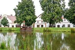 Holasovice, Boemia, repubblica Ceca Immagini Stock Libere da Diritti