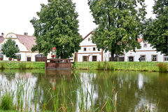 Holasovice, cyganeria, republika czech Obrazy Royalty Free