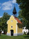 Holasovice, Czech Republic. Shrine of Saint John of Nepomuk in the UNESCO site of Holasovice, Czech Republic Royalty Free Stock Images