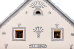 Holasovice, Czech Republic. Buildings in the baroq Royalty Free Stock Image