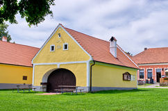 Holasovice - old Bohemian village on UNESCO heritage list Royalty Free Stock Photo