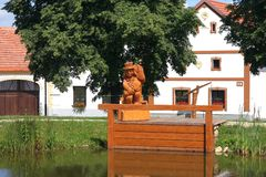 Holasovice, república checa Imagem de Stock