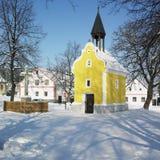 Holasovice, Repubblica ceca fotografia stock libera da diritti