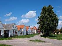 Holasovice, Repubblica ceca immagini stock libere da diritti