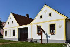 Holasovice UNESCO protected village Stock Images