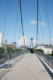 Holbeinsteg Bridge Frankfurt Royalty Free Stock Images