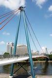 Holbeinsteg Bridge Frankfurt Stock Images