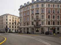 Holbergsgade street, Copenhagen Stock Photo