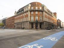 Holbergsgade street, Copenhagen Royalty Free Stock Photography
