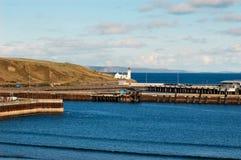 Holborn kierujcie do latarni morskiej Obraz Royalty Free