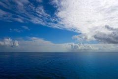 Holbox也Yalahau Conil盐水湖在墨西哥 免版税库存图片
