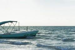 Holbox海岛 免版税库存图片