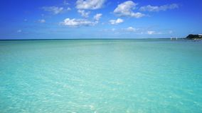 Holbox island beach in Caribbean sea Mexico