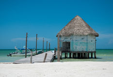Holbox royalty free stock images