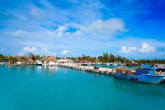 Free Holbox Island Port In Quintana Roo Mexico Stock Photos - 102608763
