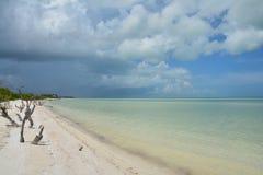 Holboxeiland in de Provincie van Quintana Roo in Mexico stock foto's