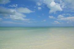 Holboxeiland in de Provincie van Quintana Roo in Mexico stock afbeeldingen