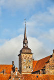 Holckenhavn Castle in Nyborg, Funen, Denmark Stock Photos