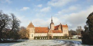 Holckenhavn Castle in Nyborg, Funen, Denmark Stock Images