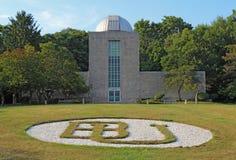 Holcomb观测所和天文馆在男管家大学凸轮 库存照片