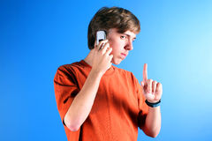 On Hold Royalty Free Stock Photography