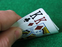 Hold'em: Cowboys Royalty Free Stock Image