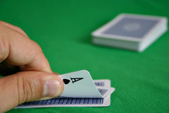 Hold'em: Pocket Rockets Royalty Free Stock Photos