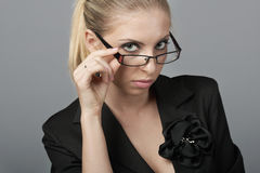 Hold for glasses Royalty Free Stock Image