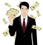 Hold money Stock Image