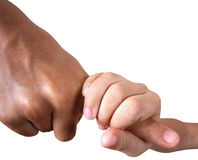 Hold my hand Royalty Free Stock Images