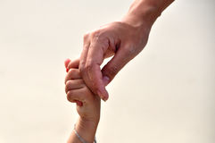 Hold my hand Royalty Free Stock Image