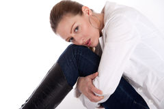 Hold My Legs Royalty Free Stock Photo