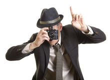 Hold that pose Royalty Free Stock Photo