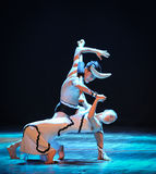 Hold on to each other-Errand into the maze-Modern dance-choreographer Martha Graham. In December 19, 2014, Shi Feifei the dancer dance work session held in the Stock Photo