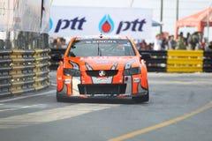 Holden V8 akcja w Thailand super seriach zdjęcia royalty free