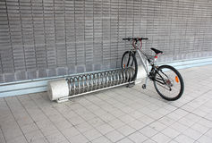 Holder for bikes Stock Images